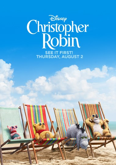 Christopher Robin Opening Night Fan Event Poster