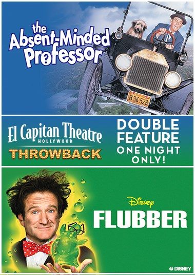 Double Flubber Feature Poster