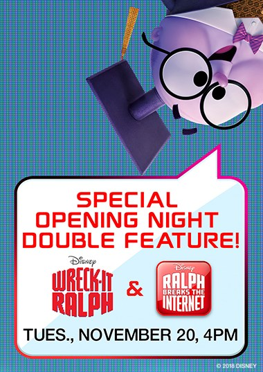 Wreck-It Ralph Double Feature Poster