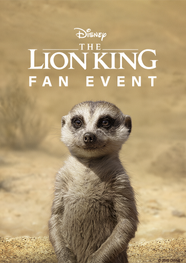 Opening Night Fan Event: The Lion King (2019) Poster