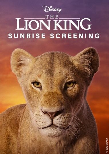 Sunrise Screening: The Lion King (2019) Poster
