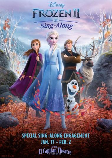 Frozen 2 Sing-a-Long Poster