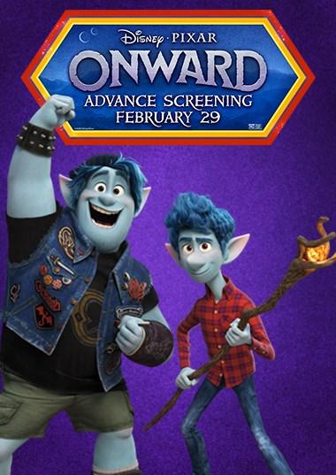 Onward Advance Screening Poster