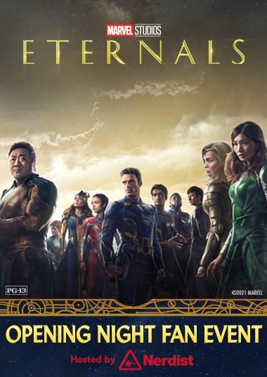 Eternals Fan Event Poster